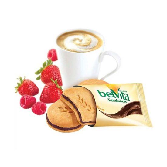 BelVita, Galletas Crema de Chocolate Oscuro (1.76 oz. 50 grs.)