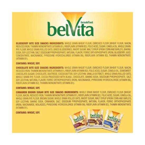 Caja BelVita, Galletas Unidades Variadas (36 ct. 4oz.)