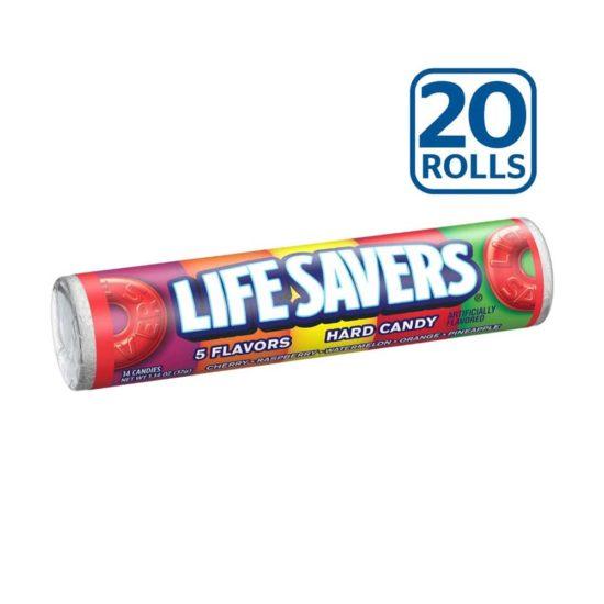Caja Lifesavers Caramelos (1.14 oz. 20 ct)