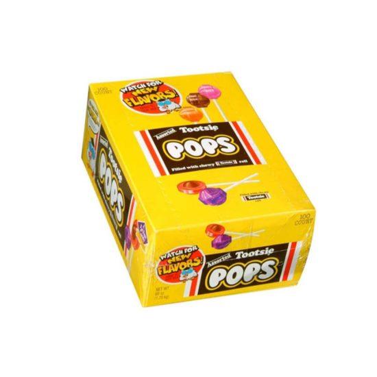 Caja Tootsie Pops (60 oz., 100 ct.)