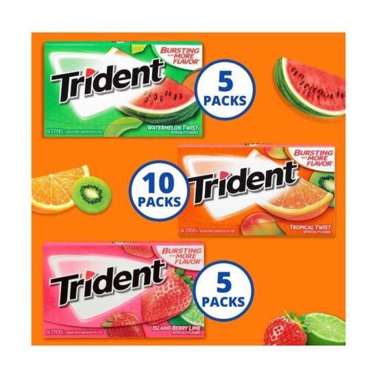 Caja Trident Frutas Variado (20 ct)