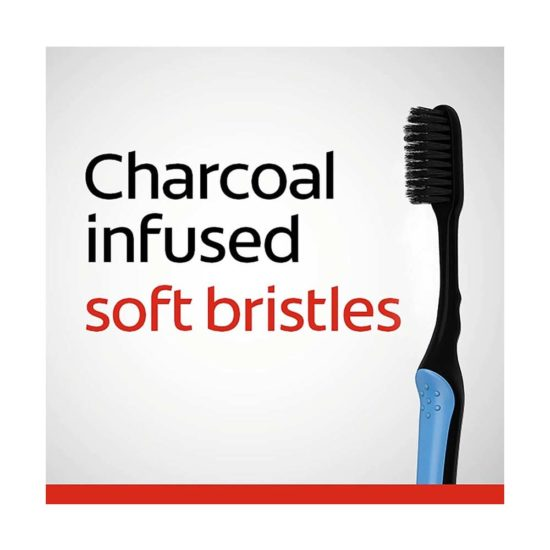 Colgate, Cepillo de diente suave de carbon