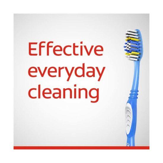 Colgate, Extra Clean - Cepillo de dientes (4 ct. )