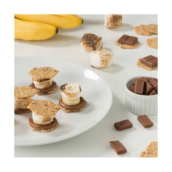 Crunchmaster, Galletas Multigrano, Gluten Free, Veganas (4oz )