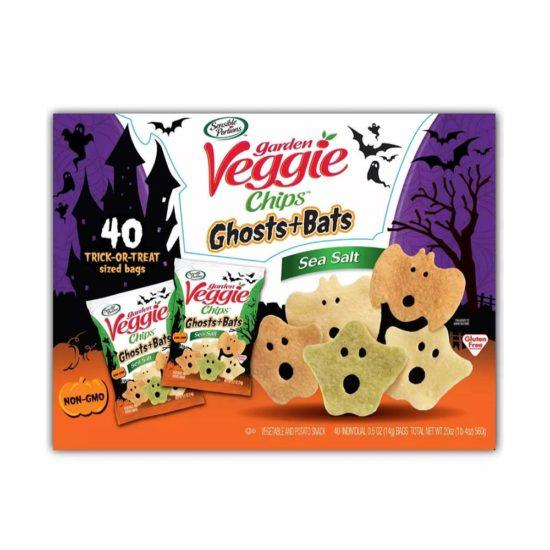 Caja Garden Veggie, Snacks de vegetales Halloween (40 pzas.)