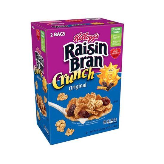 Kellogg's Cereal Original Raisin Bran Crunch (42 oz.)