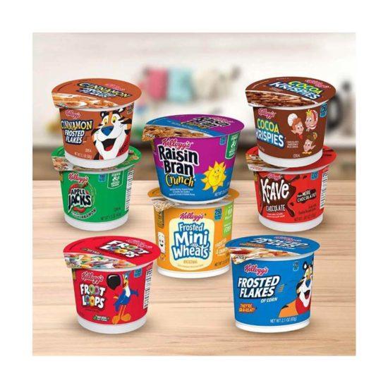 Kellogg´s Cereal en tazas
