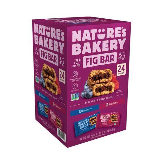 Caja Nature´s Bakery barras veganas (48 oz. 24 ct)