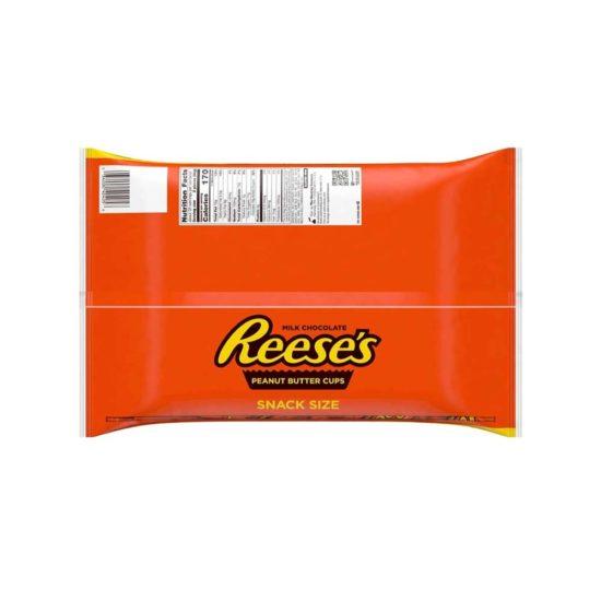 Caja Reese's, Mantequilla de mani Snack (70 ct. 42oz. 1.19 kg.)