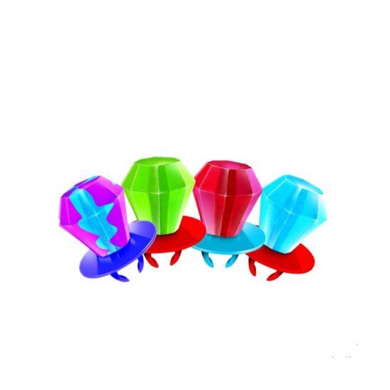 Ring Pop Chupeta de anillo variado (0.5 oz..)