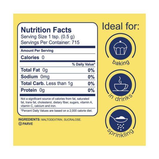 SPLENDA Granulated Sweetener (12.6 oz)