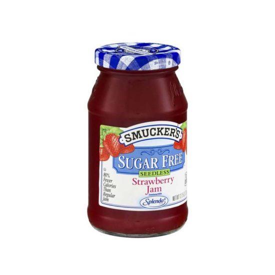 Smucker's Mermelada de Fresa Libre de Azucar sin Semilla (12.75 oz.)