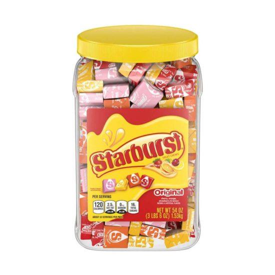 Starburst Original Fruit Chews Candy Jar (54 oz.)