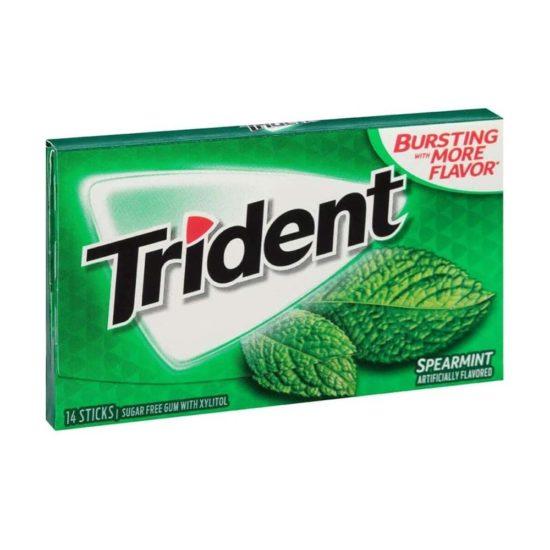 Trident Mint Variado Libre de Azucar (14 por pq.)